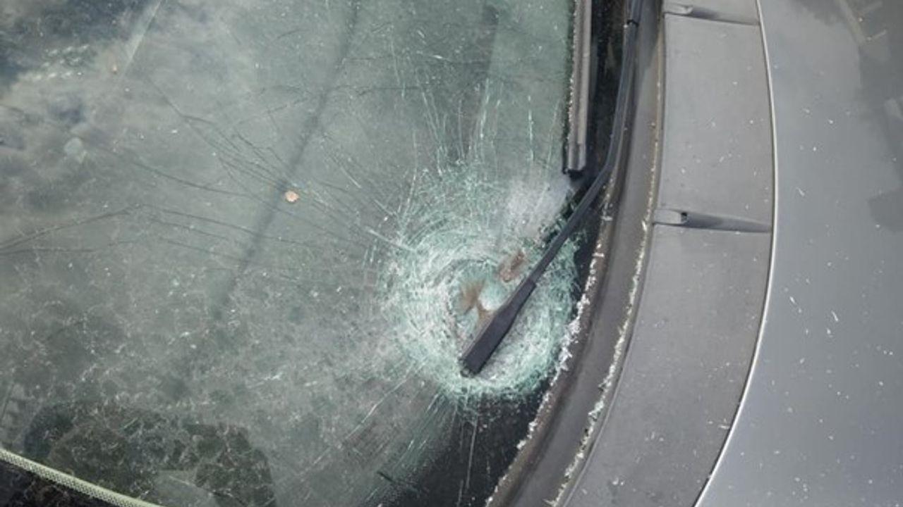 Ruitschade bij geparkeerde auto in Heeswijk-Dinther, vermoedelijk door vuurwerk