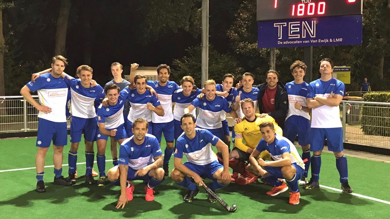 Heren MHC Oss naar tweede ronde Gold Cup