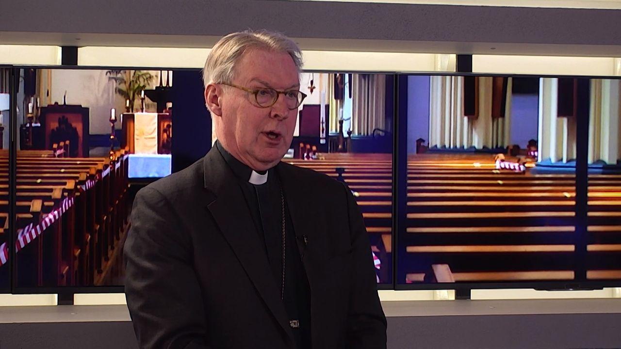 Bossche bisschop De Korte: kerken die coronamaatregelen loslaten zijn 'niet verstandig'