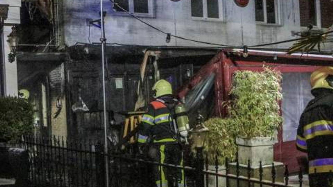 Grote brand legt café De Preek in as: vermoedelijk brandstichting