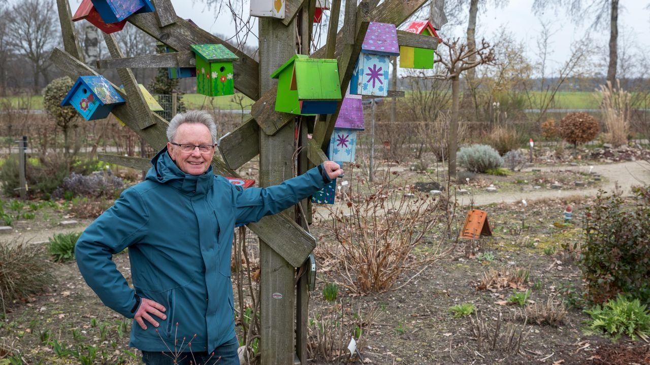 Buurttuin Bitswijk in Uden zorgt voor sociale verbinding in coronatijd