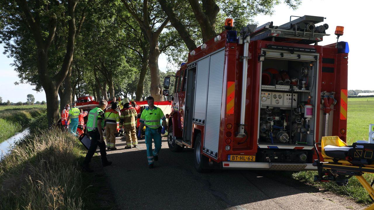 Vier gewonden bij botsing in Lith