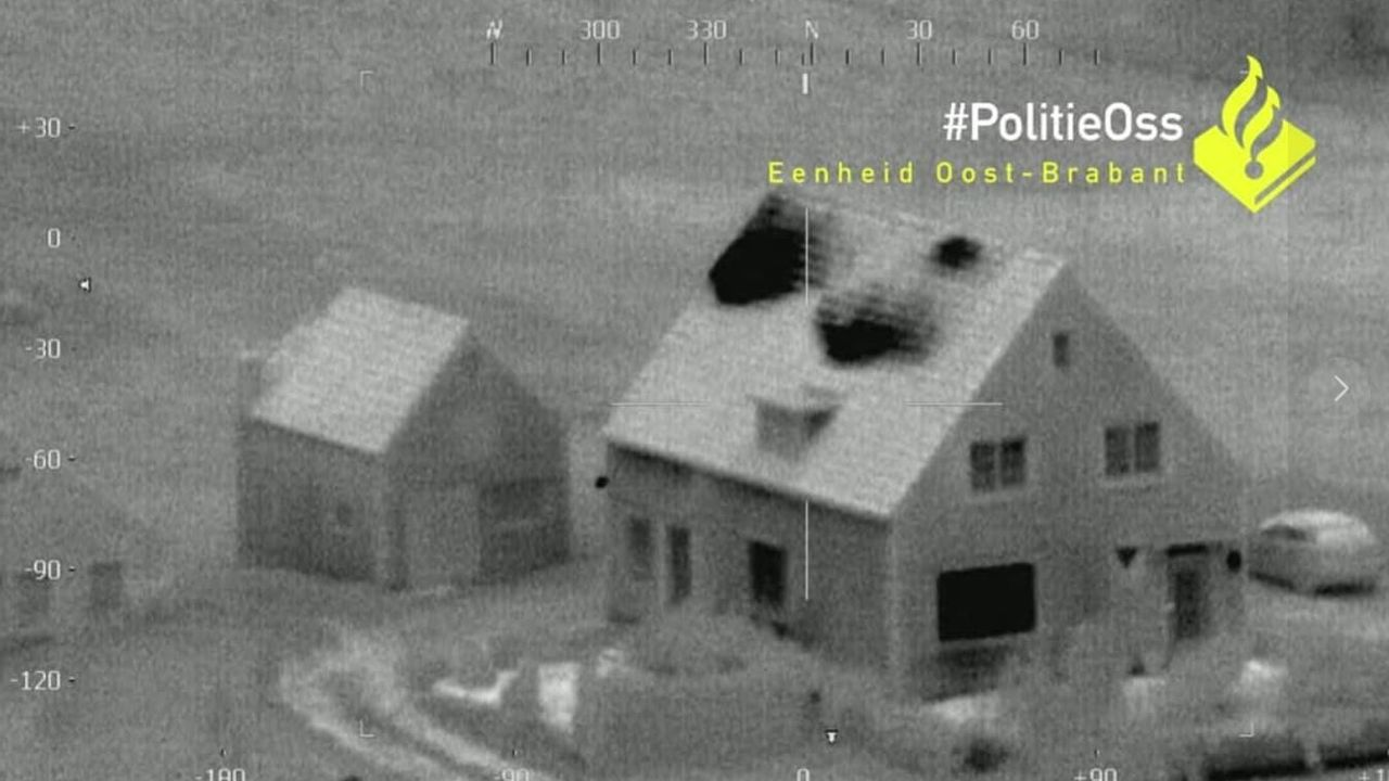 Hennepkwekerij ontdekt door beelden van uitzonderlijk warme woning