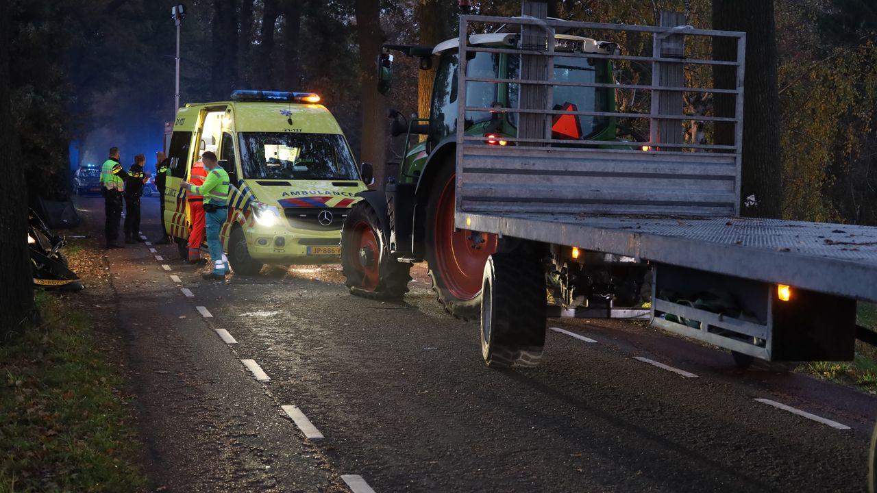 Vrouw zwaargewond na botsing met tractor in Veghel