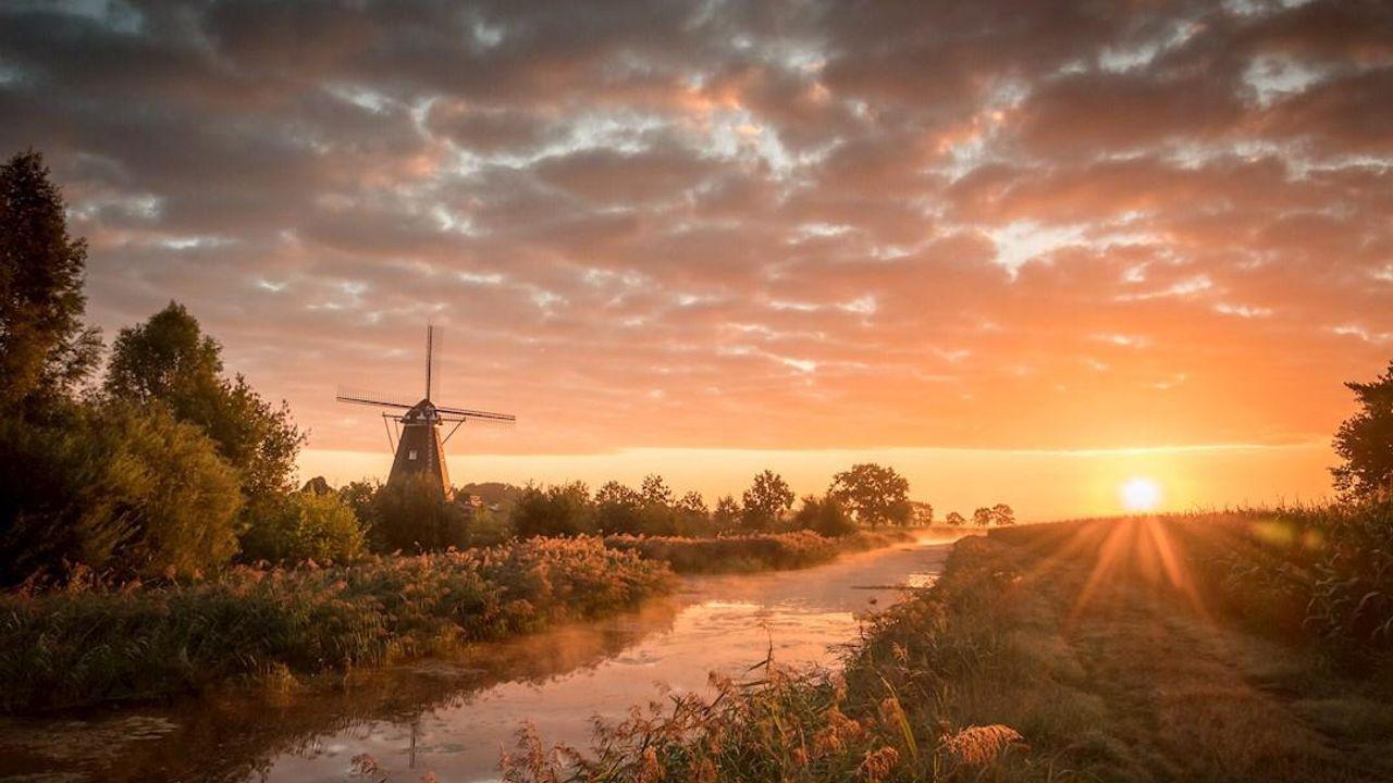 Foto Vinkelse molen genomineerd voor finale fotowedstrijd National Geographic
