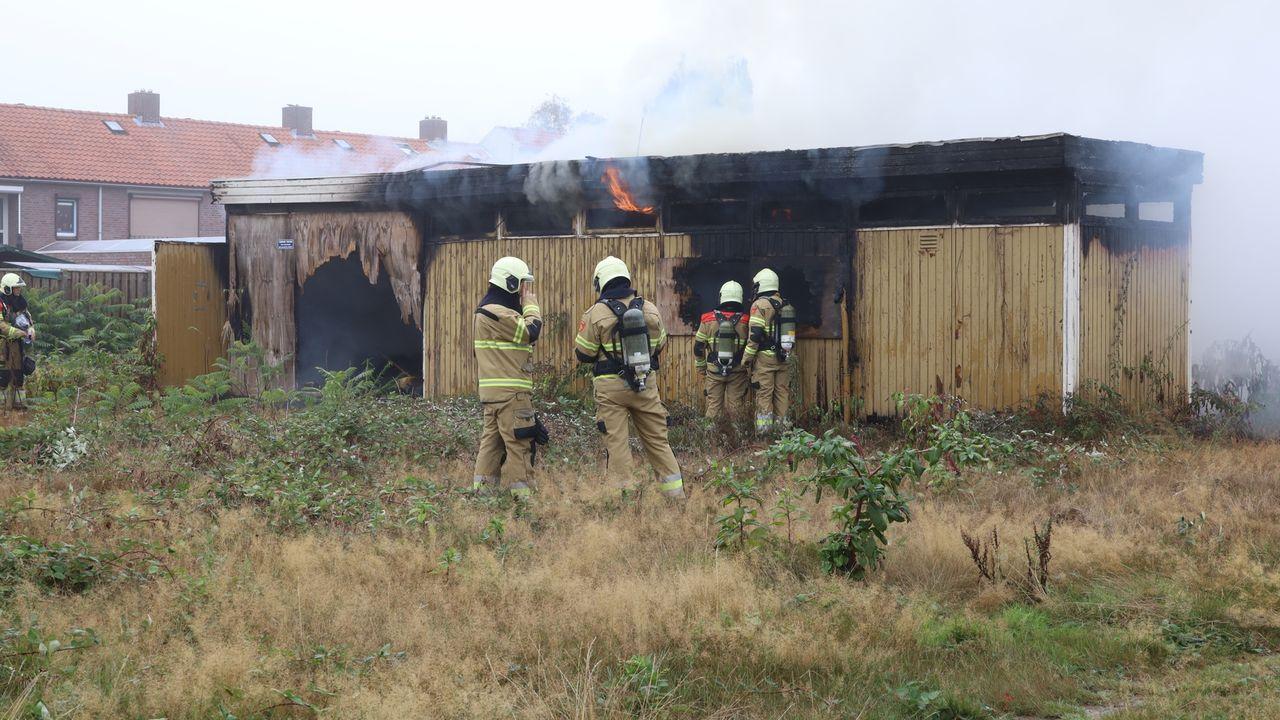 Bungalow aan Aldetiendstraat in Uden in brand, geen gewonden