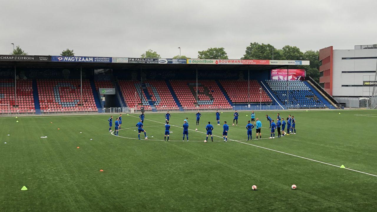 Wedstrijd FC Den Bosch tegen Helmond Sport verzet