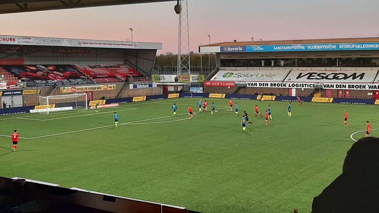 Middenmoters TOP Oss en Helmond Sport spelen gelijk