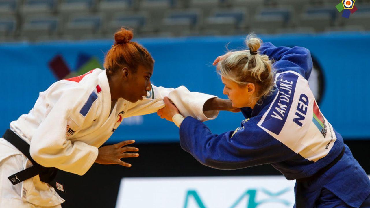Zilver voor Van Dijke op EK judo