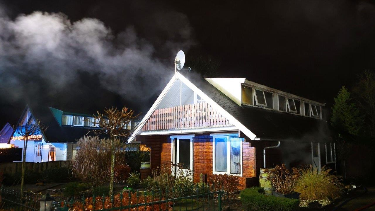 Vakantiewoning op Soperse Bos in Vinkel uitgebrand