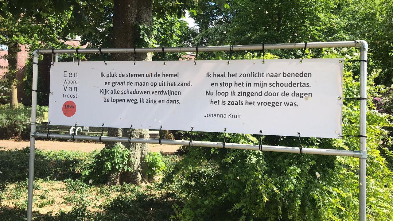 Gedichten aan de muur in Bernheze moeten 'een tinteling meegeven'
