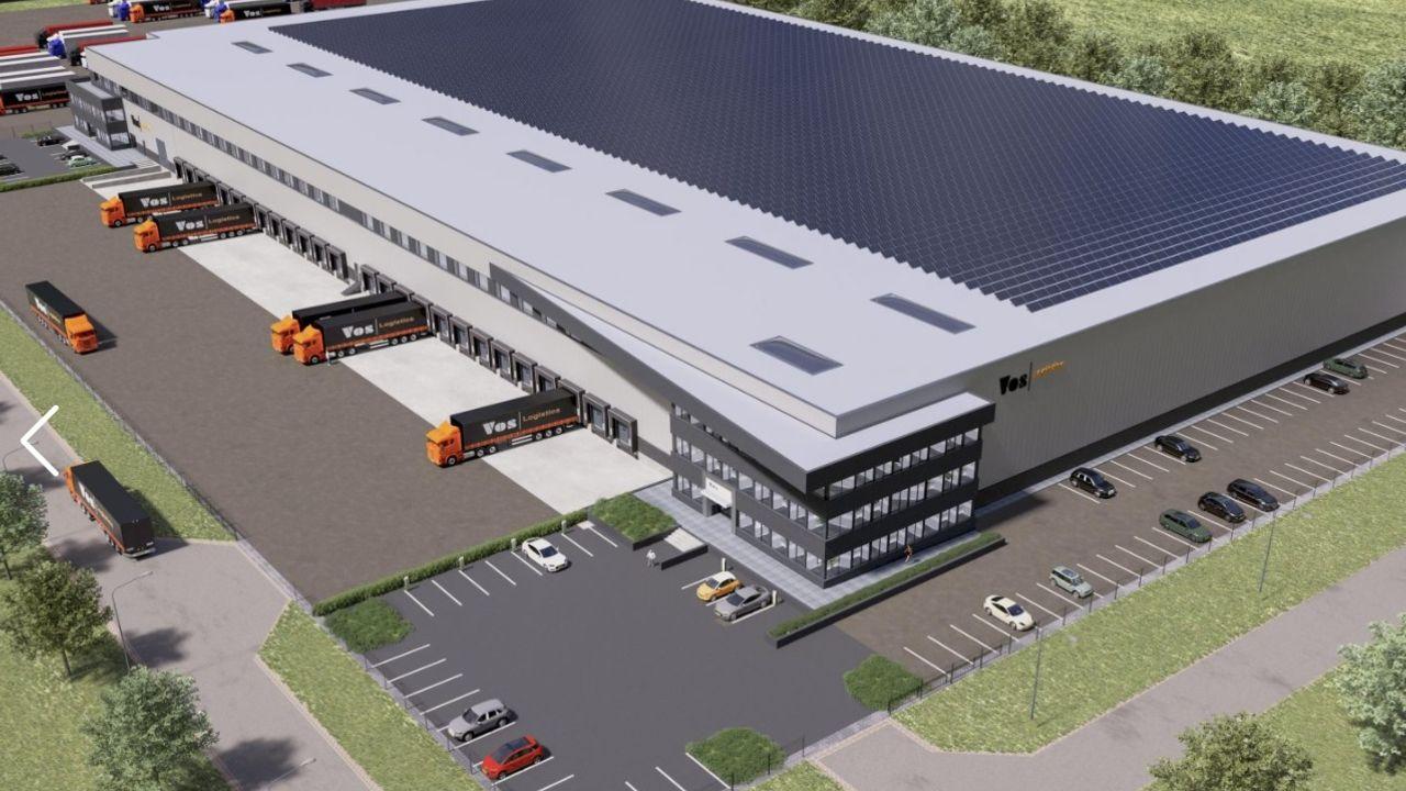 Nieuw distributiecentrum van 25.000 m2 voor Vos Logistics op De Geer