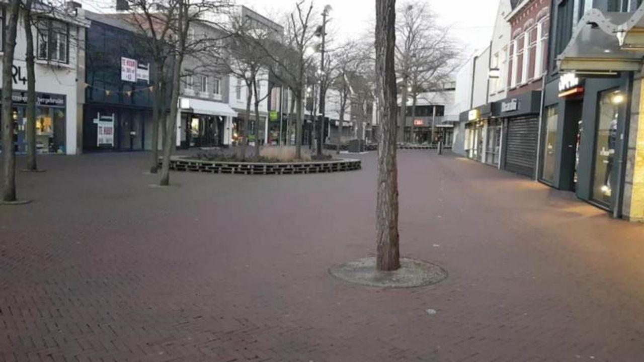 Houten pallets op Walplein worden vervangen