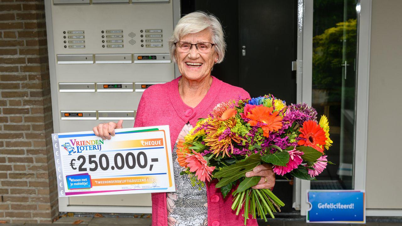 Inwoner van Uden wint kwart miljoen in loterij