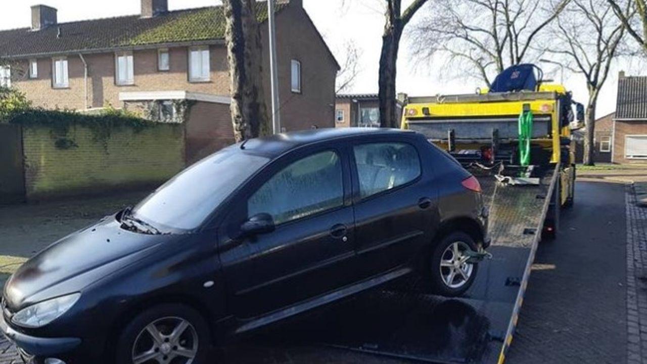 Auto hardleerse Ossenaar in beslag genomen na onverzekerd rijden