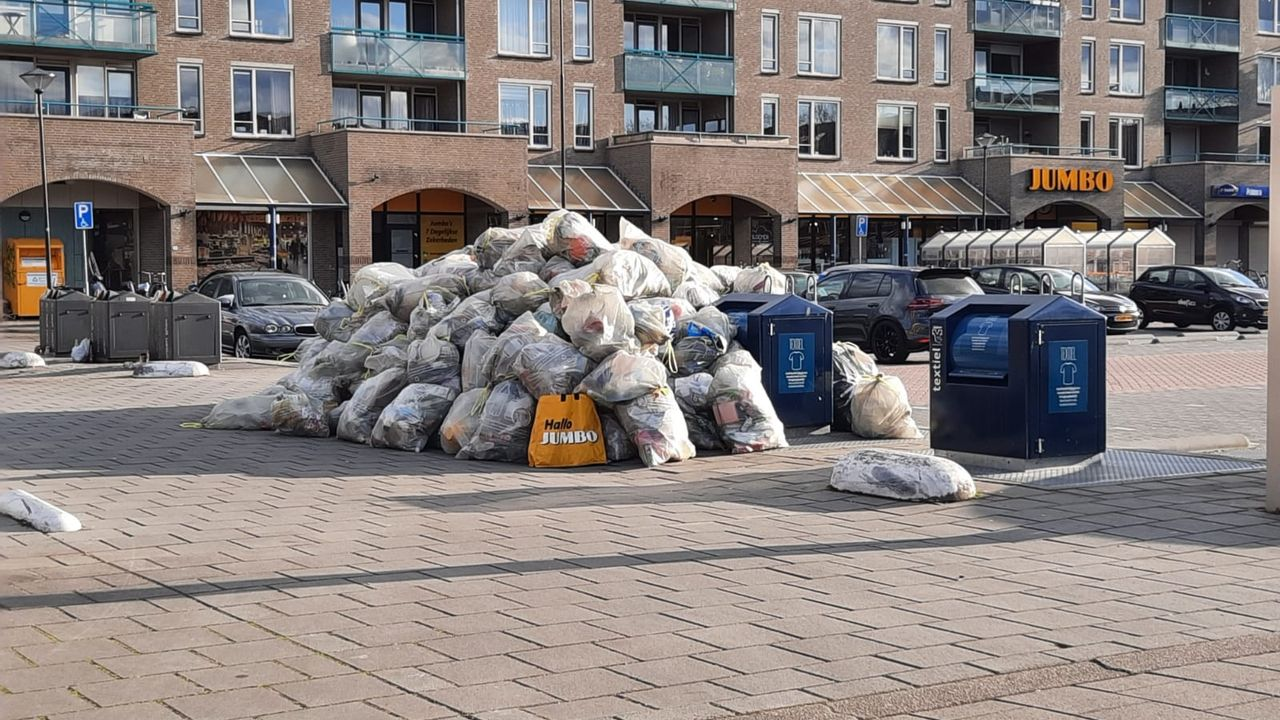 Wolfskooi Oss 'dumpplek' voor plastic afval, buurtbewoners hebben kritiek