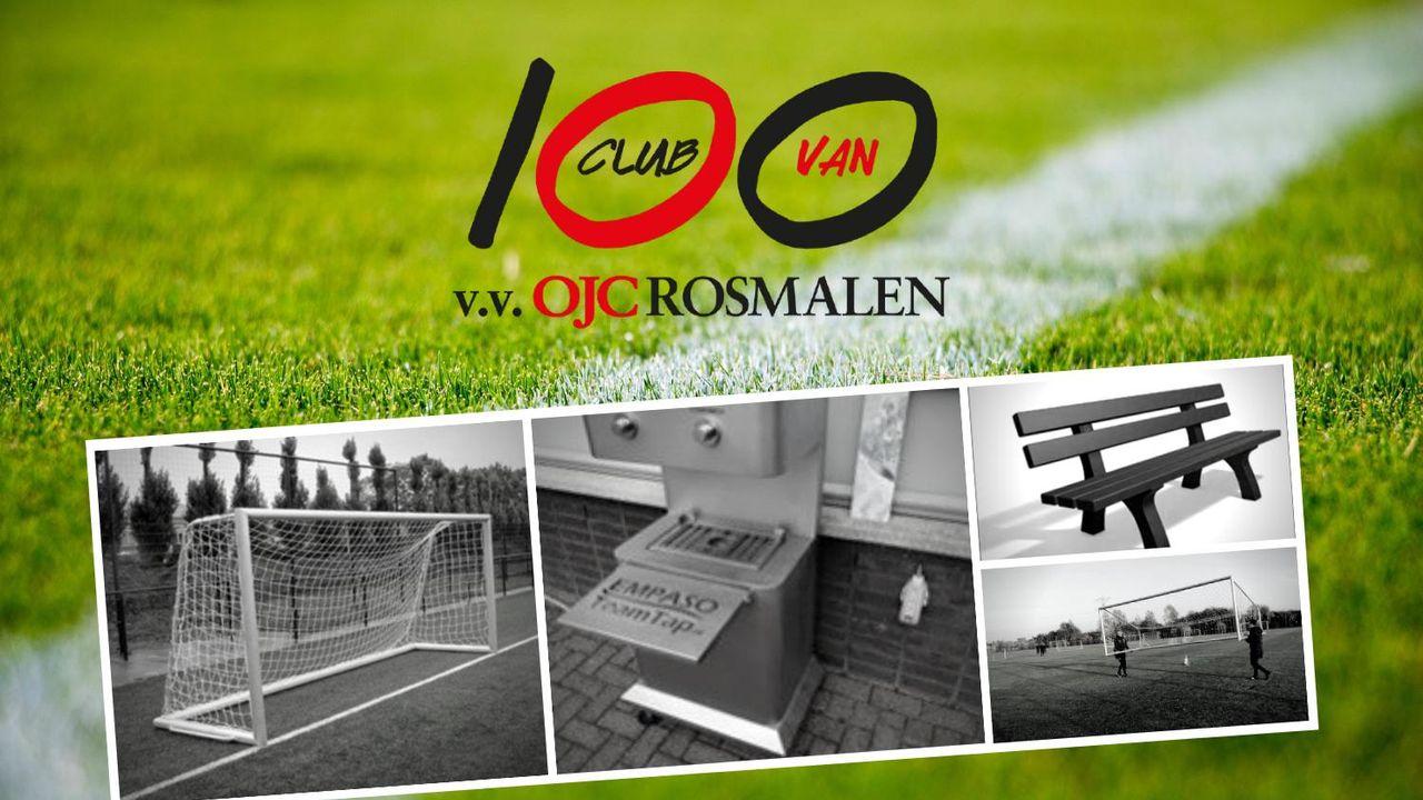 Club van 100 schenkt materialen aan OJC