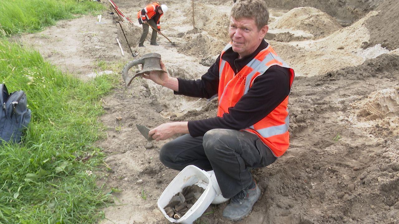 Opgraving aan Empelsedijk in Empel na vijf weken afgerond