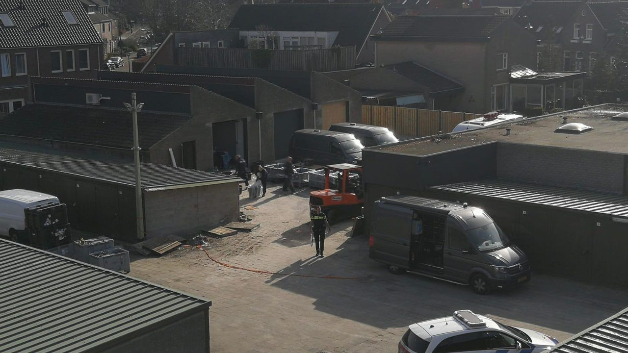 Loods met drugslab aan Hoofdstraat in Veghel gaat half jaar op slot