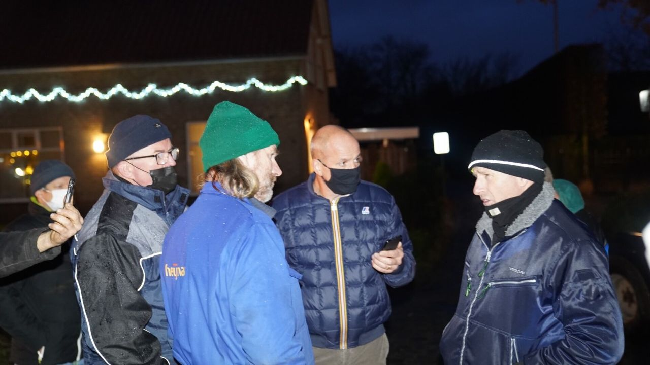 Boze boeren bij woning Jumbo-directeur Frits van Eerd