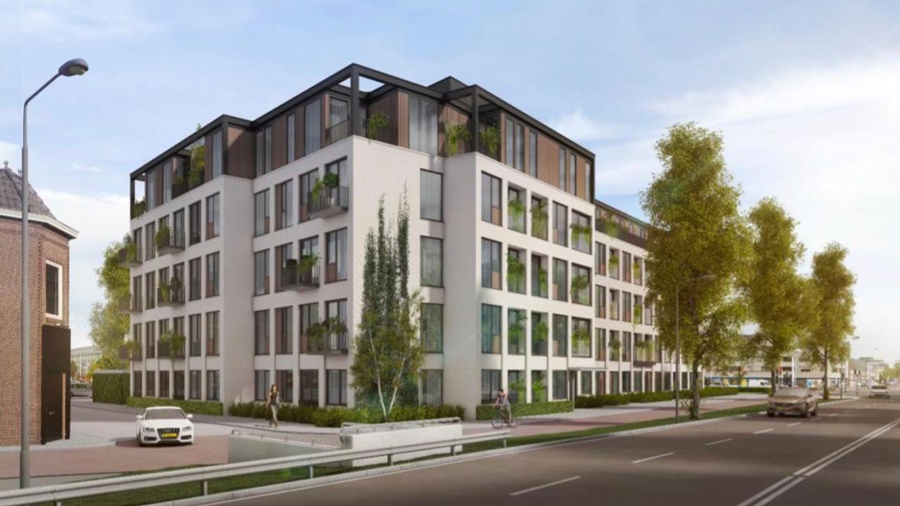 109 huurwoningen in oude GGD-gebouw Orthenseweg