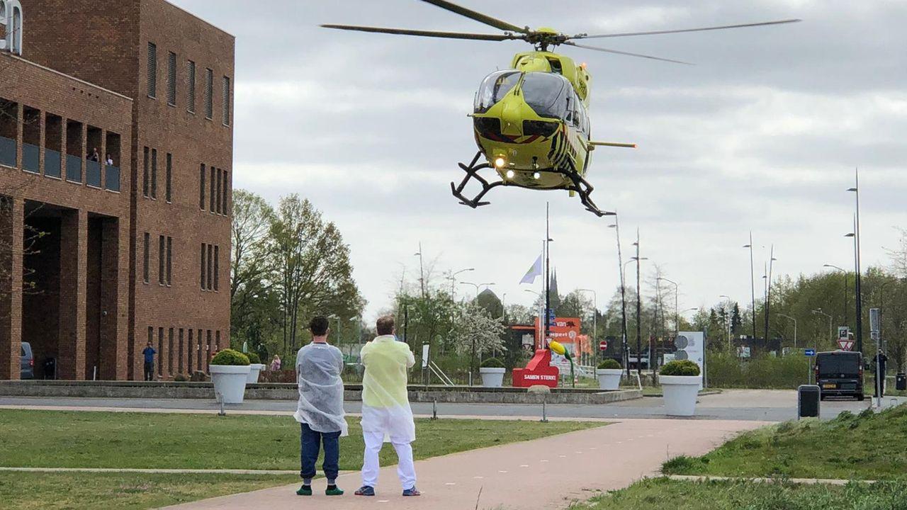 'Coronahelikopter' gaat weer vliegen vanaf vliegbasis Volkel