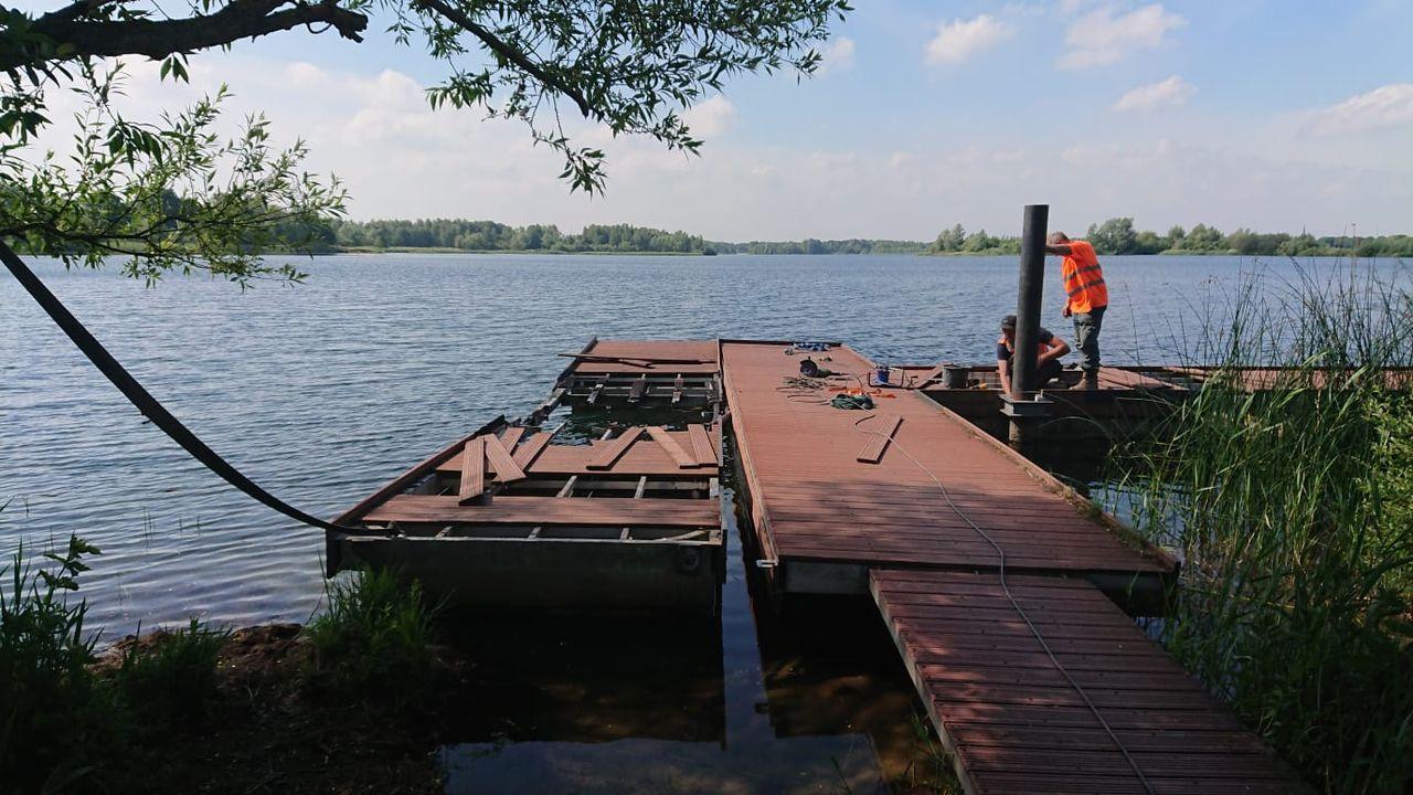 Vissteiger Engelermeer opgeknapt en ingekort