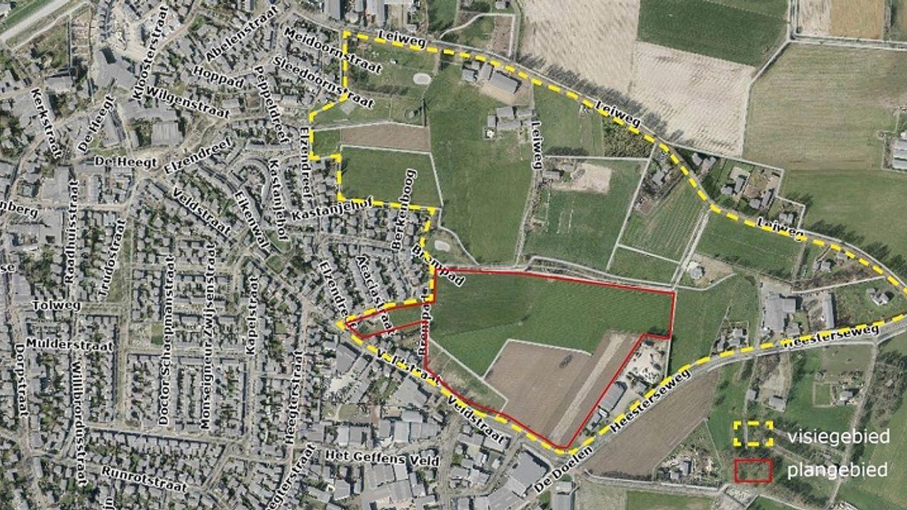 Gemeente werkt aan compleet nieuwe woonwijk in Geffen
