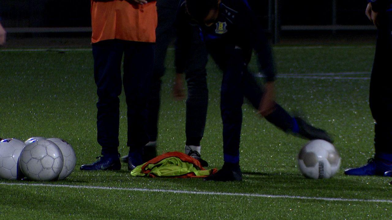 Voorlopig laatste training voor voetbalelftallen: 'Alles geven'