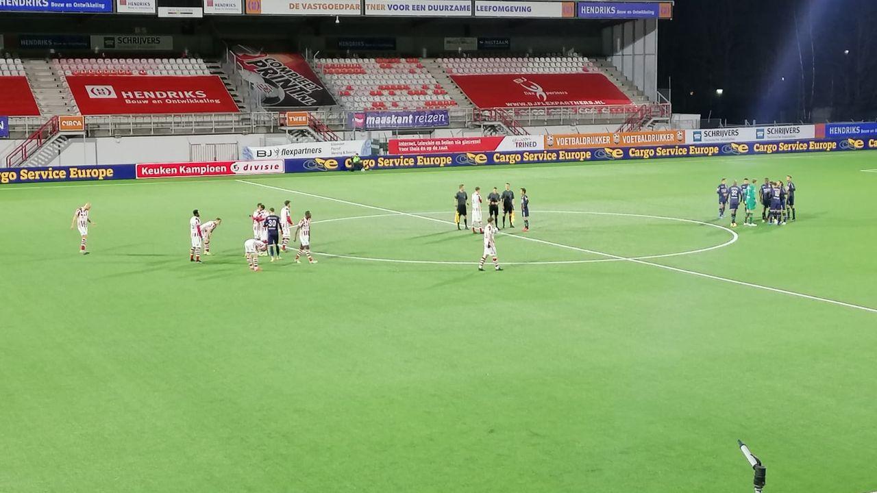 Liveblog: Tien spelers TOP Oss knokken zich naar voorsprong tegen NEC
