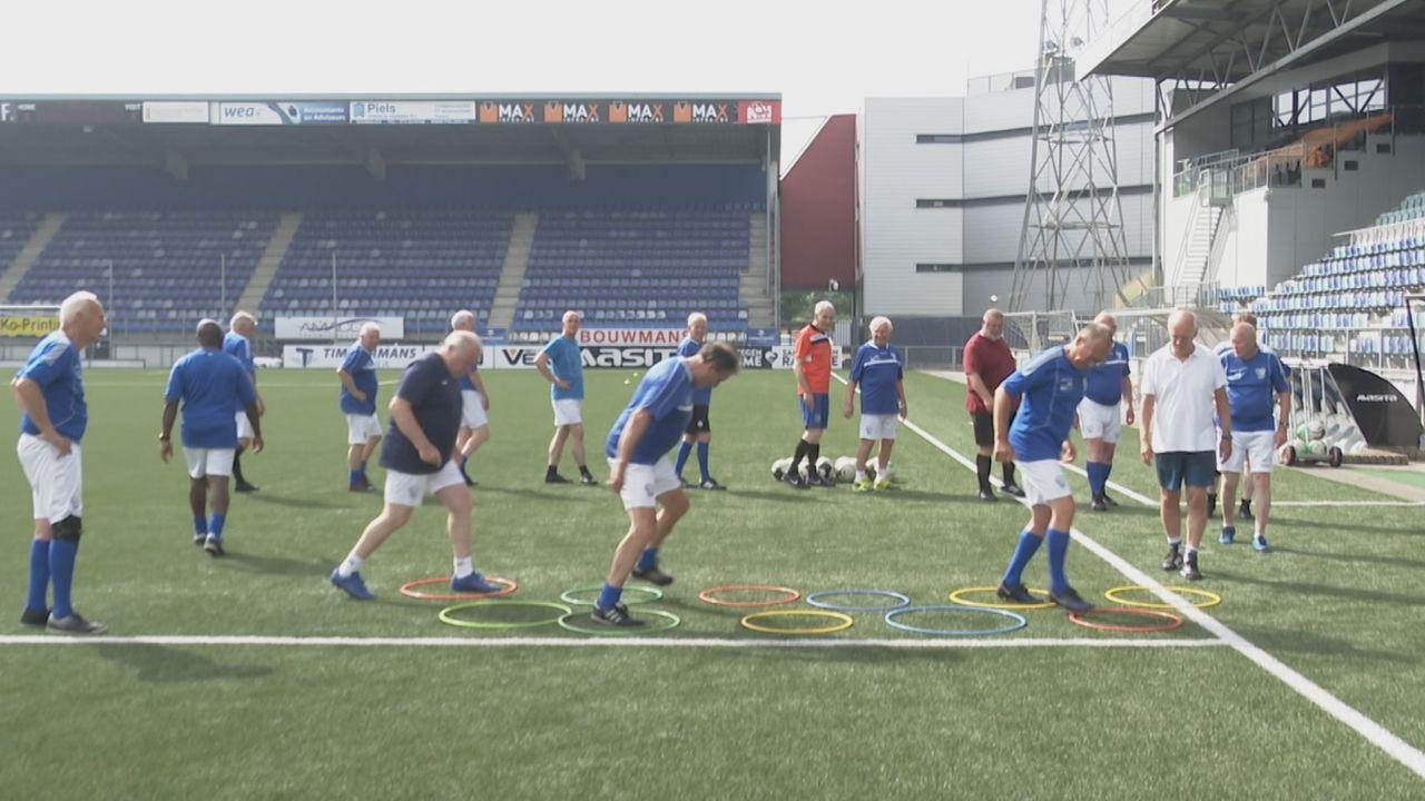 The boys are back in town: Walking Football mag weer in De Vliert