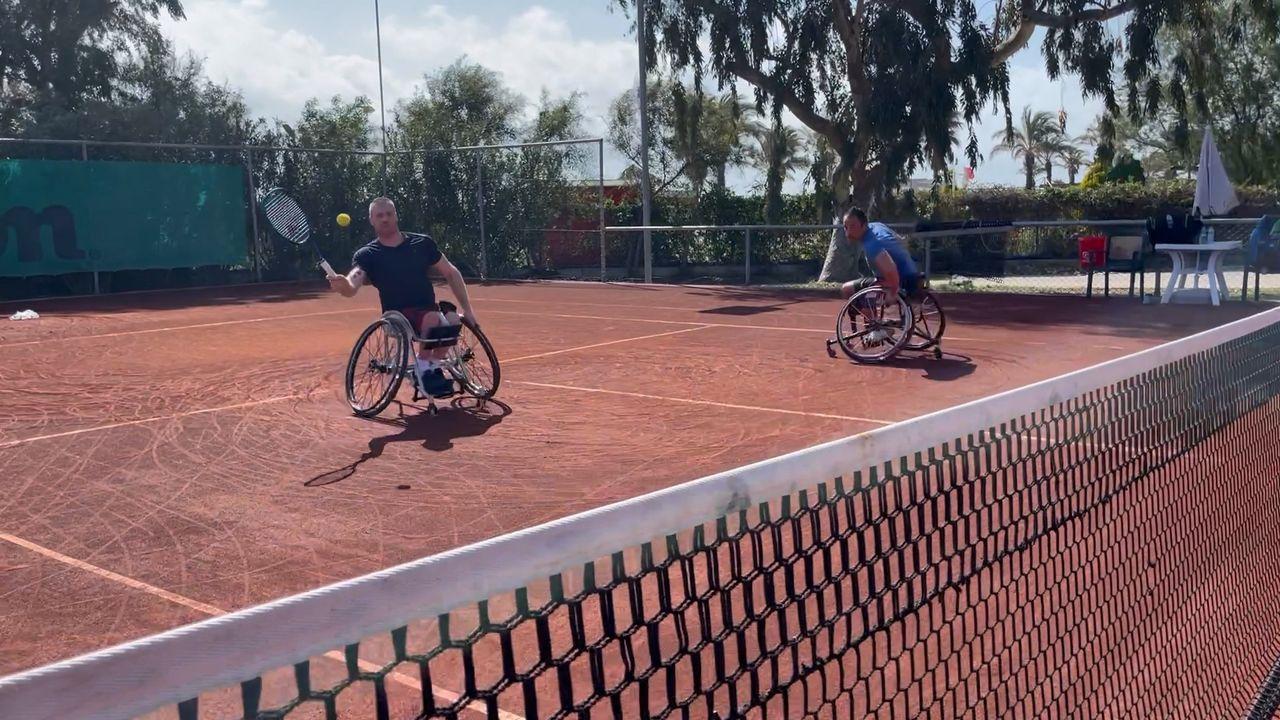 Bossche rolstoeltennisser Maikel Scheffers moet in coronatijd snel schakelen: 'Hoort erbij in deze tijd'