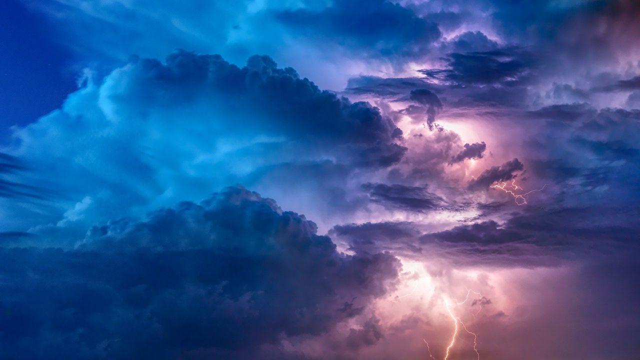 Code geel vanwege zware onweersbuien