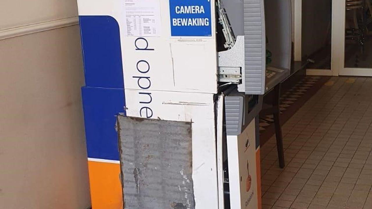 Mislukte kraak op geldautomaat in gemeenschapshuis Megen