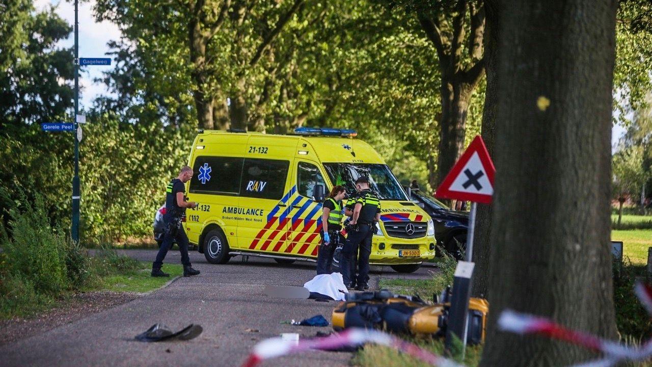Motorrijder uit Megen komt om het leven bij ongeval in Elsendorp