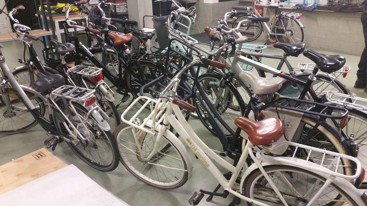 Partij gestolen fietsen gevonden