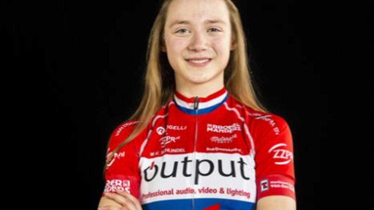 Elise Uijen uit Herpen Europees kampioen tijdrijden