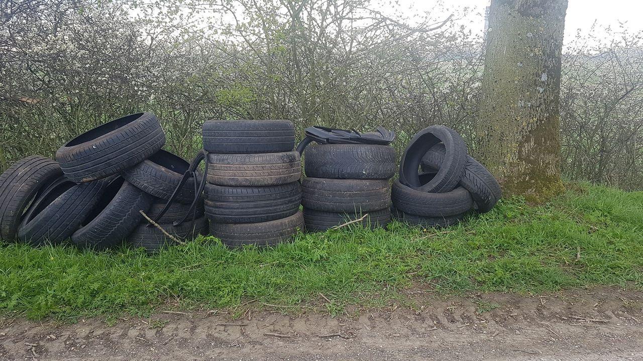 Ook in Megen afval gedumpt langs de weg