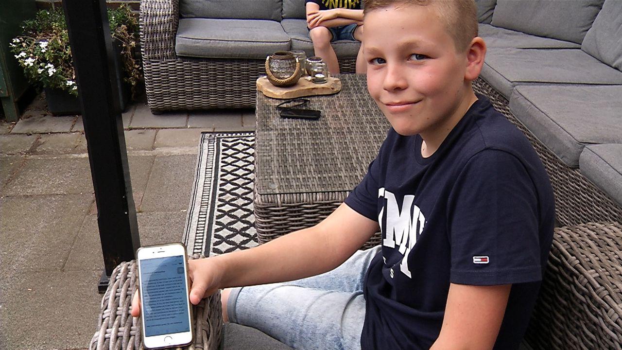Jongen uit Nistelrode (12) wil heel graag meedenken met Rutte