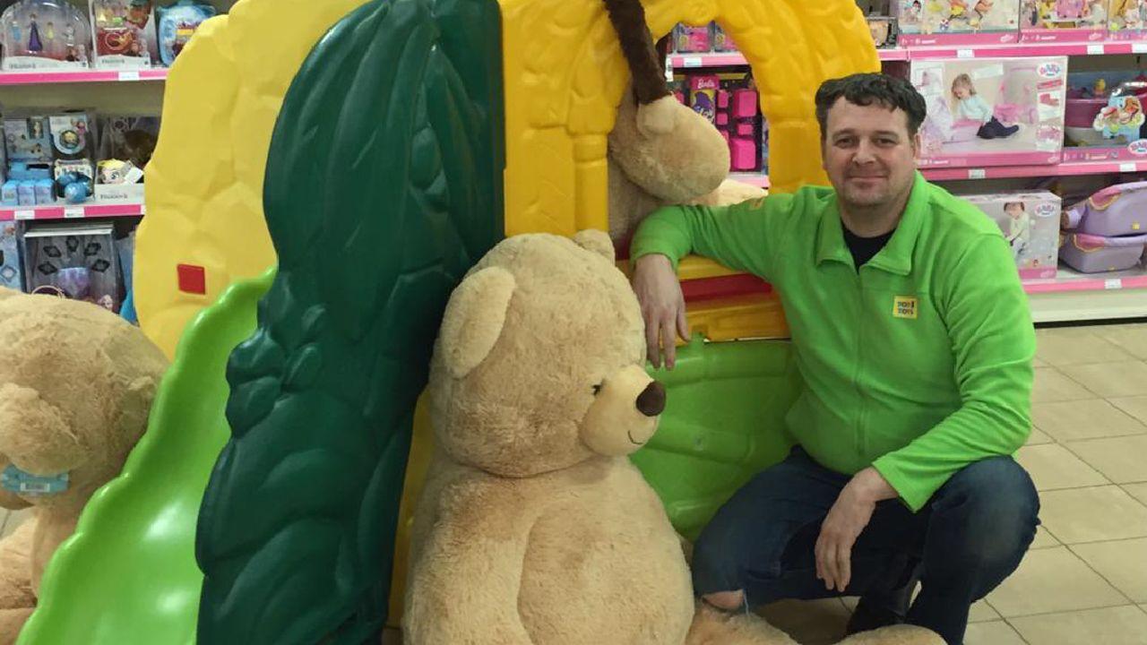 """Anton (43) uit Uden: """"Zelfs als de kinderen niks kopen ben ik al blij"""""""
