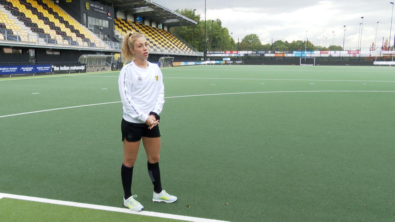 Laura Nunnink (HC Den Bosch) treft oude club: 'Oppassen dat ik niet de verkeerde kleedkamer in loop'