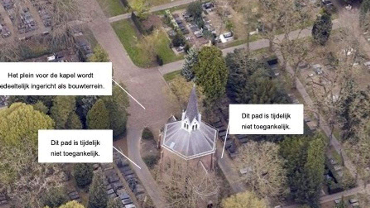 Kapel begraafplaats Orthen wordt gerestaureerd