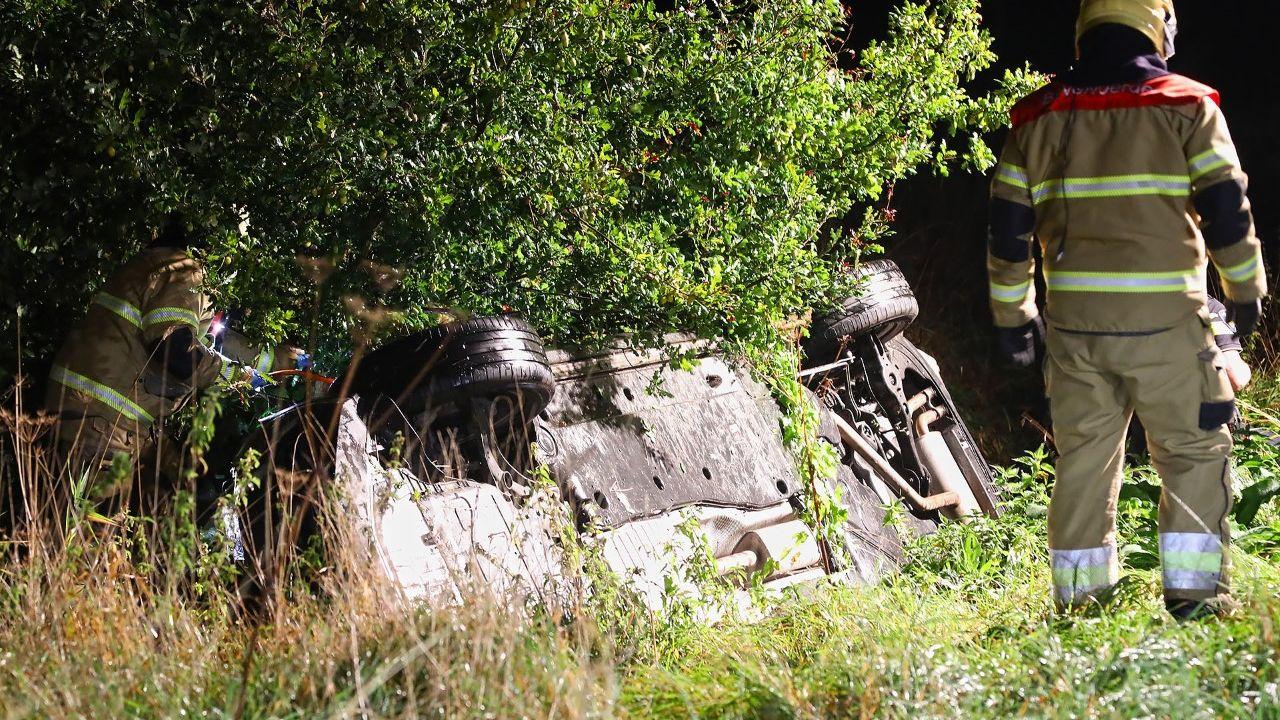 56-jarige man omgekomen bij auto-ongeluk in Deursen-Dennenburg