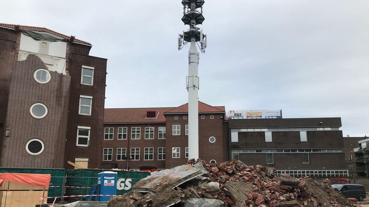 Sloop oude KPN-centrale Den Bosch van start