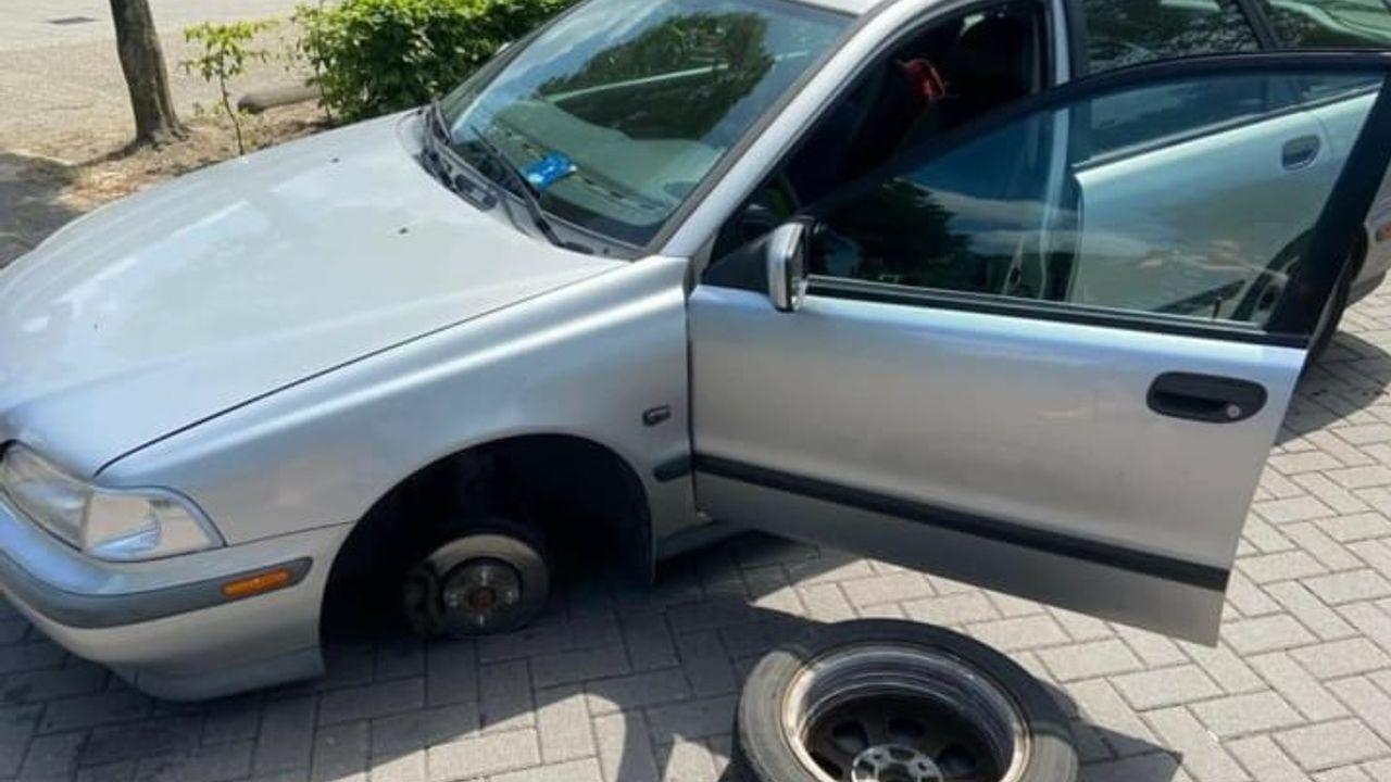 Auto op de Groote Wielen in Rosmalen gesaboteerd, politie heeft zaak in onderzoek