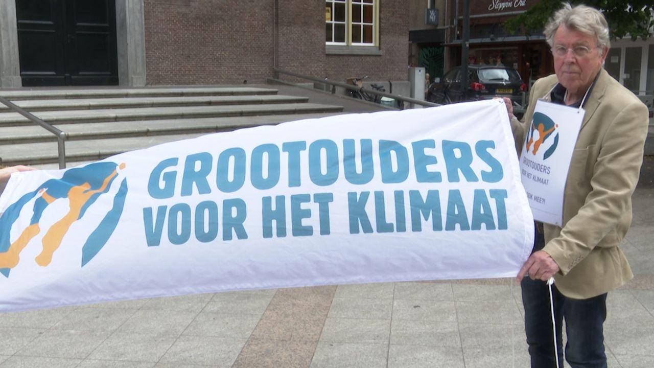 Grootouders voor het klimaat naar Den Haag