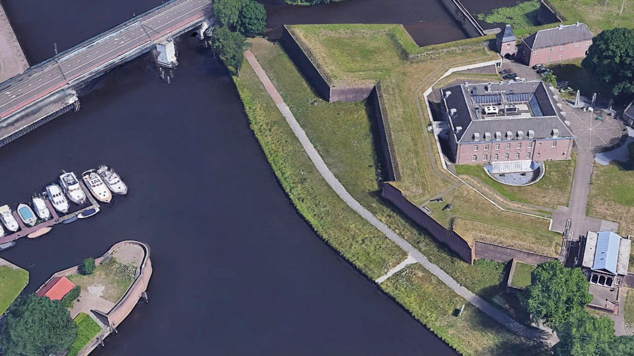 Pop-up restaurant met zomerterras bij Citadel in Den Bosch