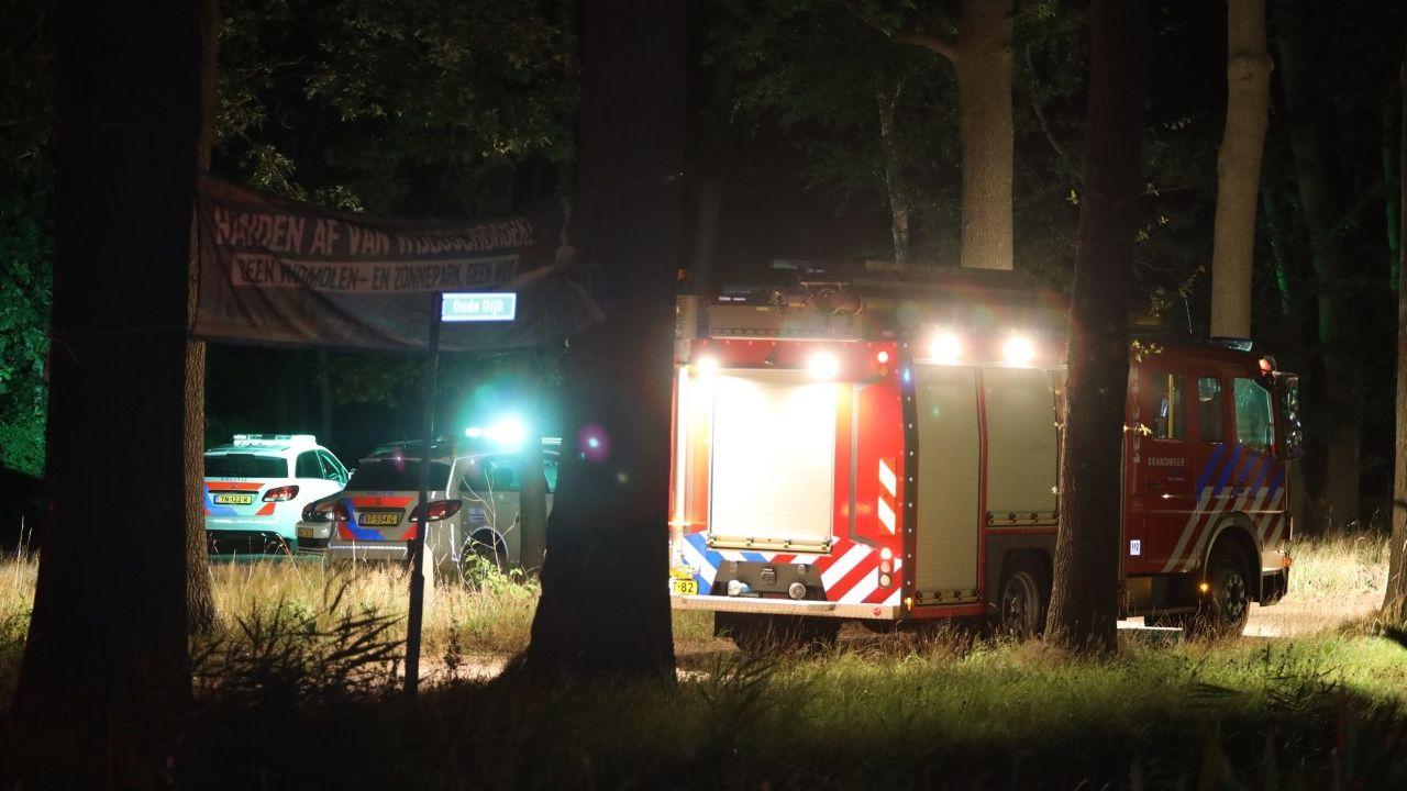 Zoekactie naar vermiste vrouw in bossen Wijboschbroek in Schijndel