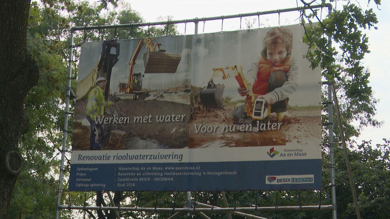 Nieuwe filters bij rioolwaterzuivering om stank in Maaspoort te verminderen