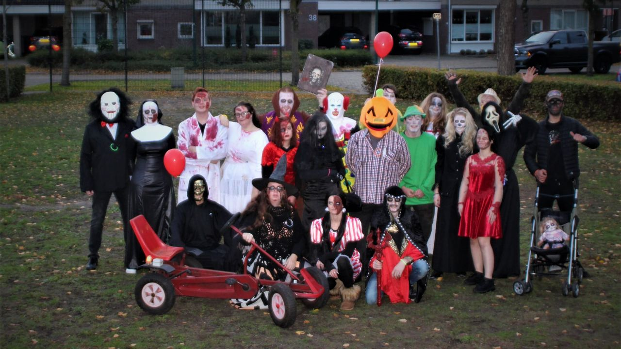 Halloween was succes, nu ook activiteit met kerst voor kinderen uit Berghem